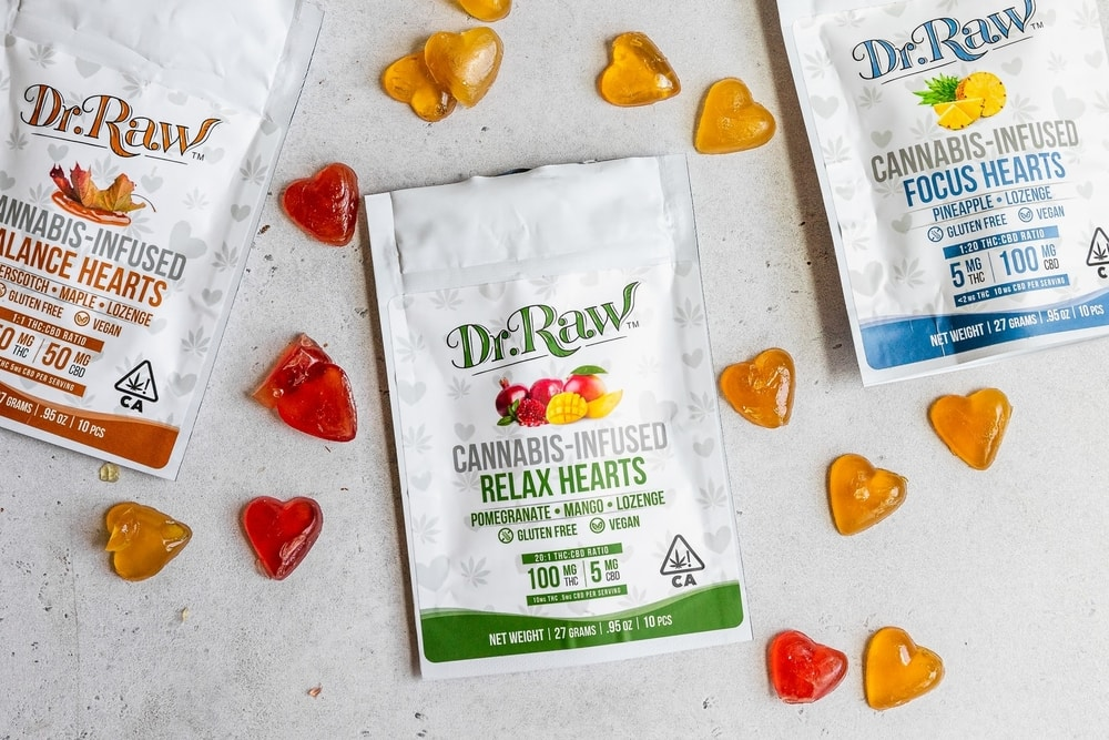 CBD infused jelly sweets